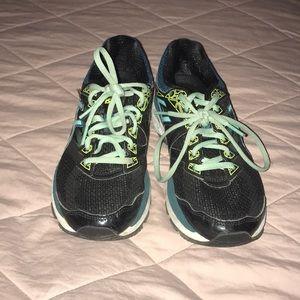 ASICS running shoes!